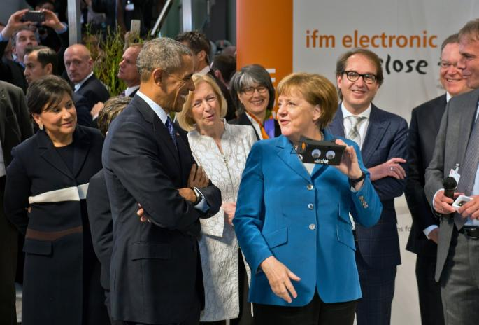Barak Obama i Angela Merkel