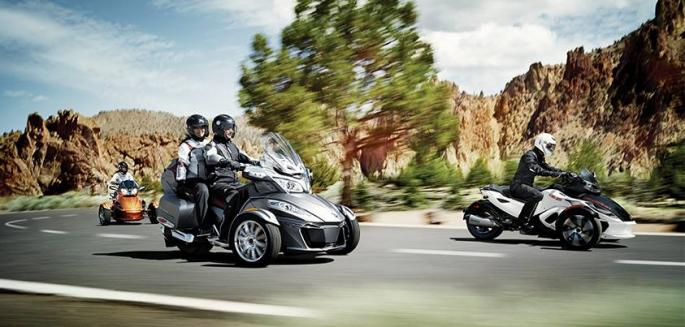 Can-Am Spyder reklama