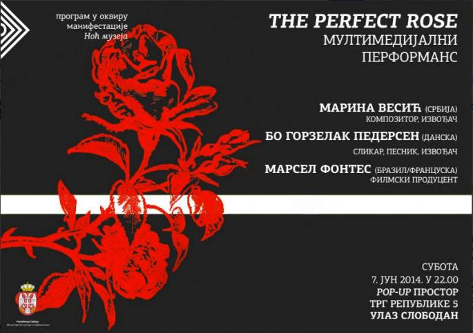 "Performans ""The perfect Rose"""